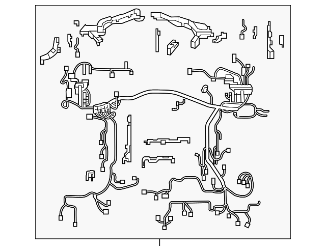 2018 lexus lc500 wire harness 82111