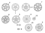 Wheel, Alloy - Toyota (42611-42700)