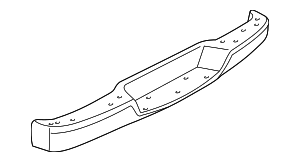 Bumper Face Bar - GM (25962241)