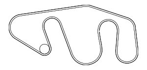 Serpentine Belt - Nissan (11720-EA200)