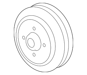 Pulley - GM (12604614)