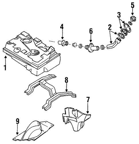 Mazda HG31-60-960 Fuel Tank Sending Unit