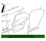 Applique Panel - Mercedes-Benz (210-690-03-87)