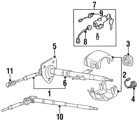 ignition lock for 1991 nissan 300zx