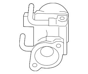 Genuine Subaru Egr Valve 14710AA780