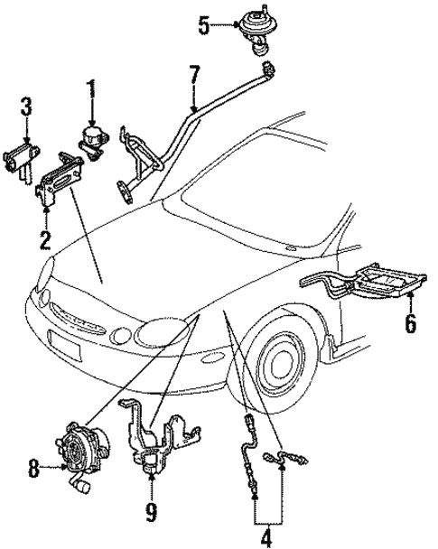 Egr System For 1996 Ford Taurus