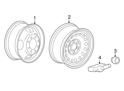 Wheels For 2016 Chevrolet Silverado 2500 Hd