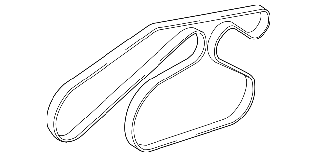 genuine ford serpentine belt 8l8z