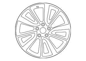 Wheel, Alloy - Nissan (D0C00-4CB3D)
