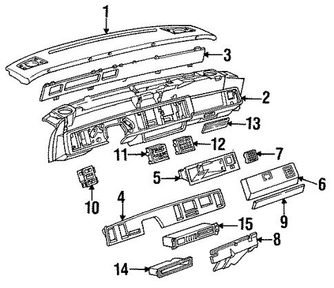 Emission  ponents Scat in addition Bell Housing And Bellhousing Patterns further Radiator Support Scat furthermore Radiator Hoses Scat likewise Exterior Trim Front Door Scat. on 5 3 chevrolet crate engines
