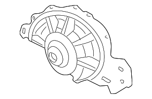 Water Pump - GM (19209288)