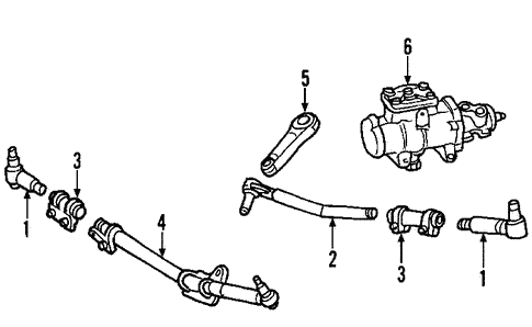 Steering/Steering Gear & Linkage for 2012 Ford E-250 #1