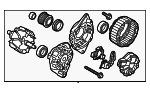 Alternator - Hyundai (37300-2B510)