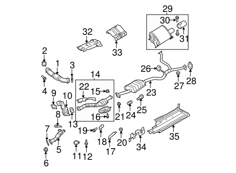 2007 Subaru Outback Exhaust Diagram Basic Guide Wiring Diagram