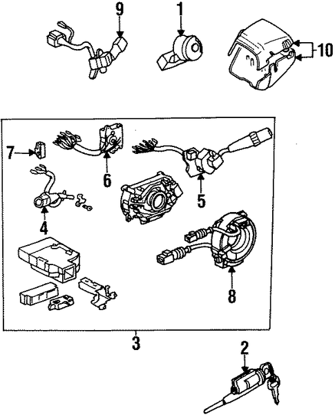 ELECTRICAL/SWITCHES for 1998 Toyota Supra #2