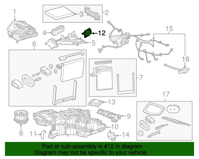 GM OEM-Door Actuator 22808882