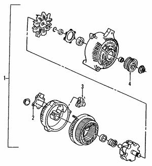 oem ford alternators catalog