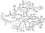 Plate, L Front Bulkhead Side Induction - Honda (74139-TRV-A00)