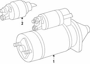 Remanufactured Starter Motor