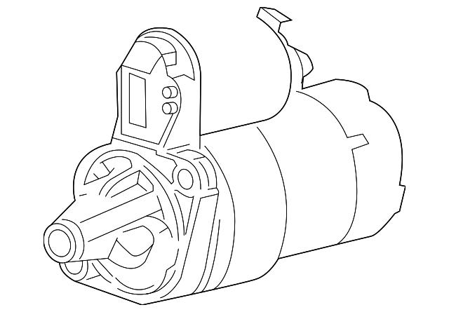Kia Kia Starter 36100 2b110ru Genuine Kia Parts