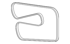 Serpentine Belt - Mercedes-Benz (011-997-02-92)