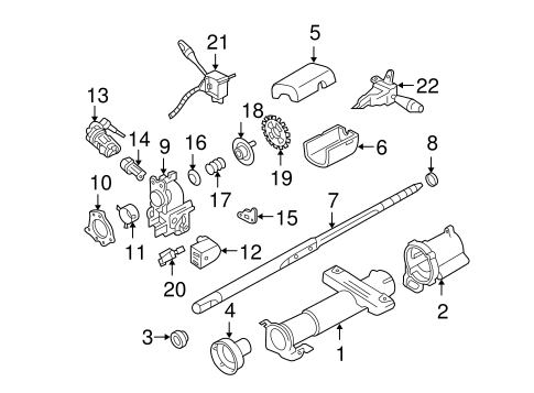 Housing Components For 1999 Chevrolet Cavalier