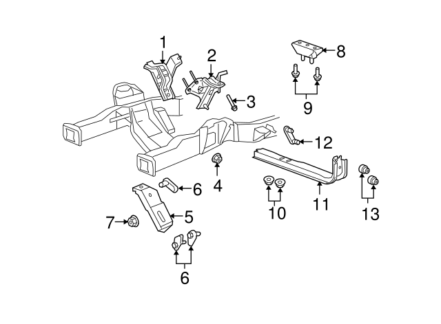 ford e engine mount diagram ford auto wiring diagram schematic genuine ford e 350 super duty front mount 5u9z 6038 aa on ford e 350 engine