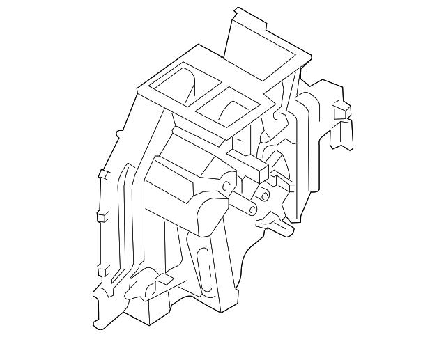 evaporator case