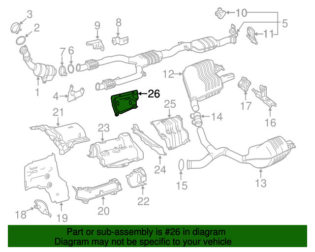 Heat shield mercedes benz 205 680 02 22 factory oem for Mercedes benz part numbers list