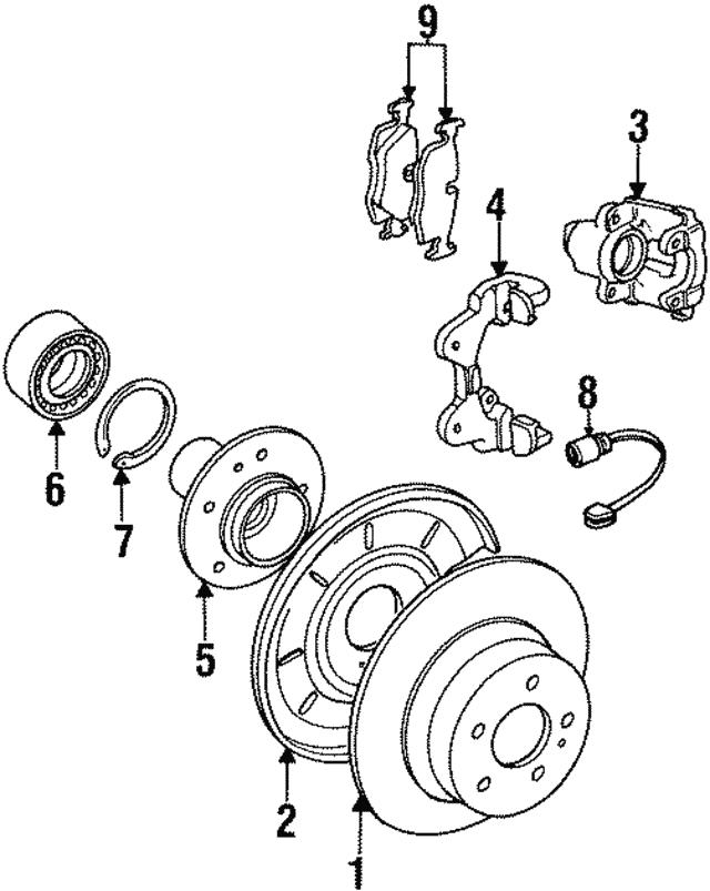 1992 1999 bmw sensor 34 35 1 181 342 germain bmw parts 1999 BMW 323I Custom sensor bmw 34 35 1 181 342