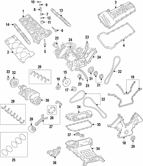 Oem 2006 Lincoln Ls Engine Parts Bluespringsfordparts. Engineengine For 2006 Lincoln Ls 1. Lincoln. Engine Parts Diagram 2006 Lincoln At Scoala.co