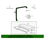 Side Rail Assembly - Land-Rover (CAI100020PMD)
