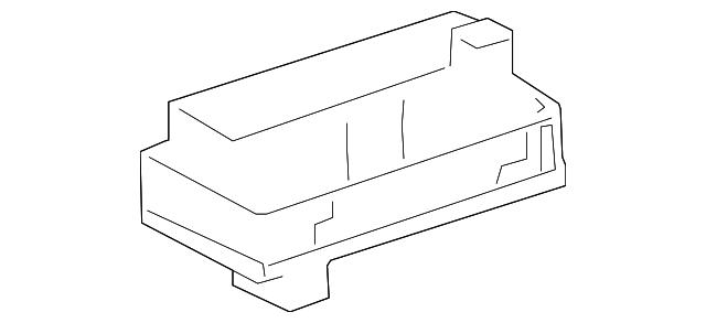 2006 Toyotum Camry Fuse Box