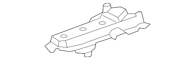 Genuine Toyota 55815-52060 Cowl Side Seal
