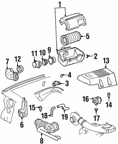 97 Chevy Suburban Engine Diagram