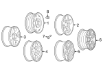 Wheel, Alloy - GM (9598794)