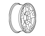 Wheel, Alloy - GM (9593993)