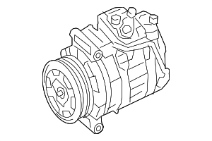 Compressor - Mercedes-Benz (000-830-54-02)