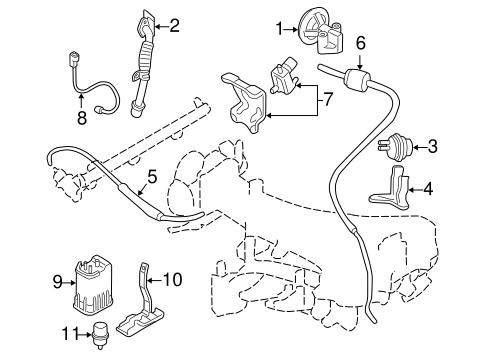 Montero Sport Vacuum Diagram