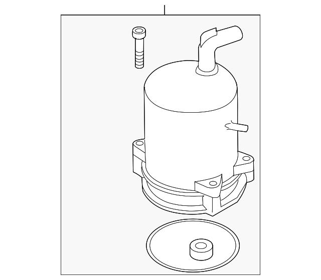Genuine Mazda BBM4-32-68ZR-01 Power Steering Pump