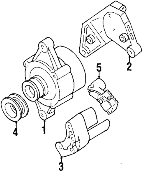 Alternator For 2002 Isuzu Trooper
