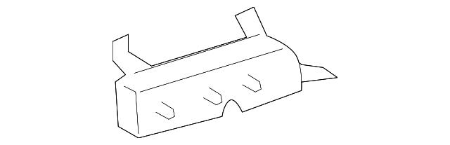 TOYOTA Genuine 72998-0C010-E1 Seat Cushion Cover