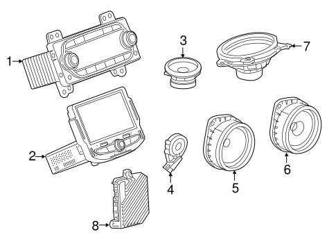 Oem 2018 Chevrolet Malibu Sound System Parts