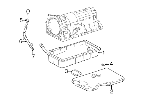Automatic Transmission For 1999 Toyota 4runner