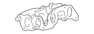 Exhaust Manifold - Toyota (17104-20020)