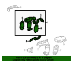 Exhaust Manifold - Toyota (17140-20050)