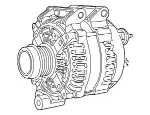 Alternator - Mopar (4727603AA)