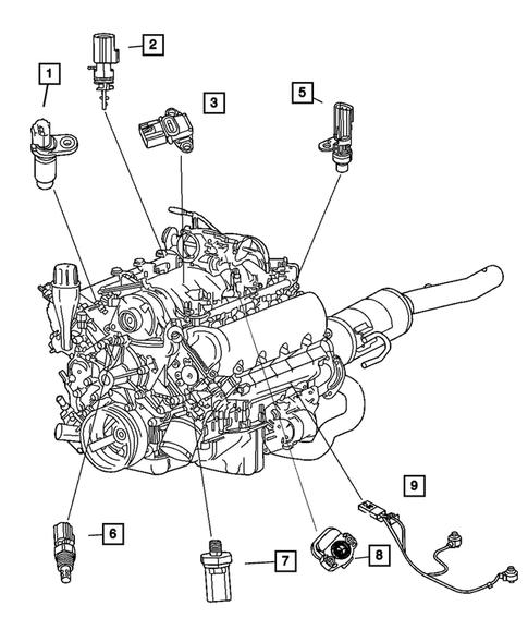 Sensors For 2004 Dodge Durango Thomas Dodge Parts