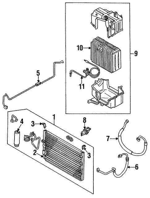 Toyota Cressida Parts Diagram