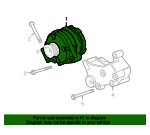 Alternator - Land-Rover (YLE500410)